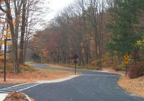Kittatinny Valley State Park New Entrance Road